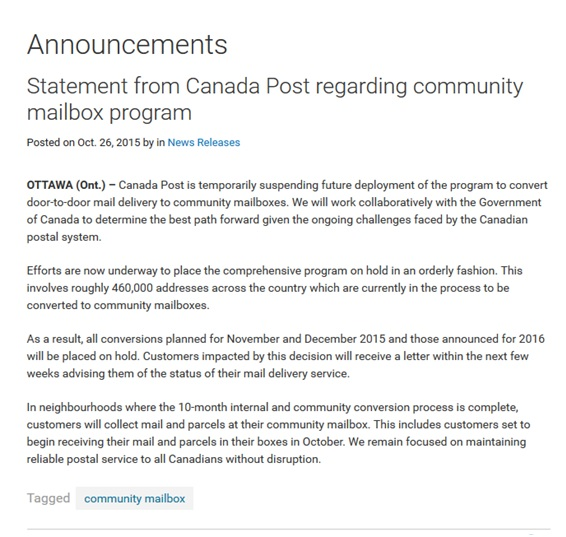 CP news release