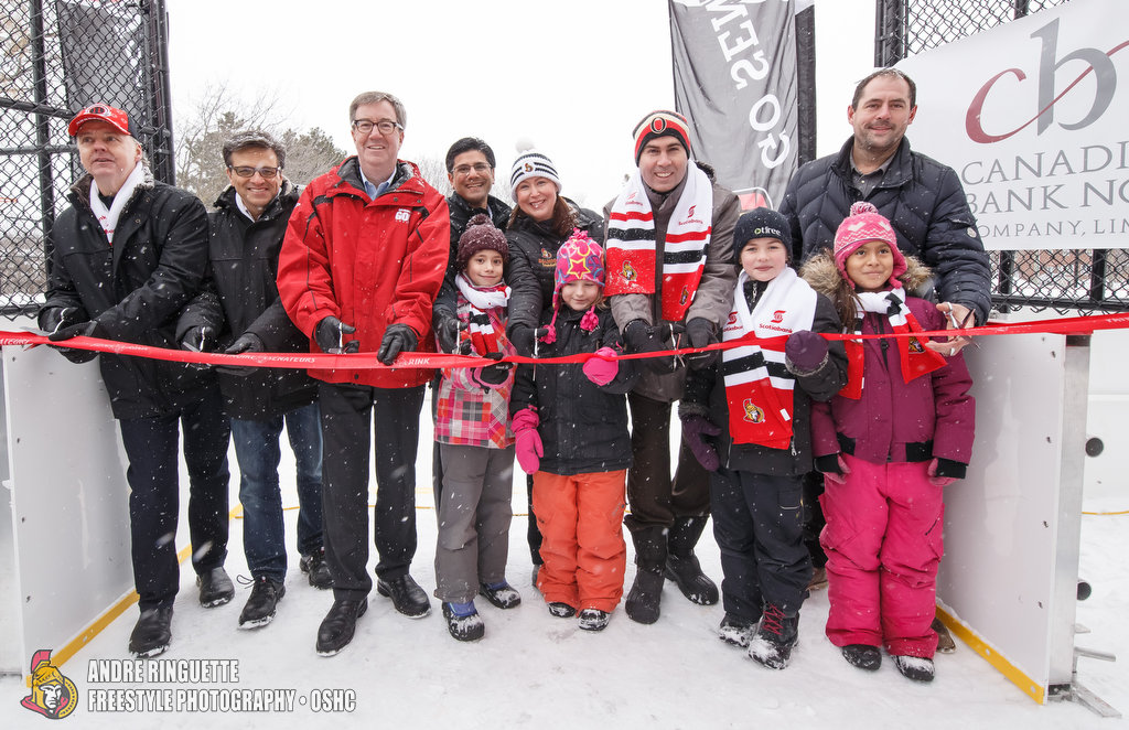 Sens Rink Opening Jan. 28, 2017 PHOTO: Andre Ringuette/Freestyle Photography