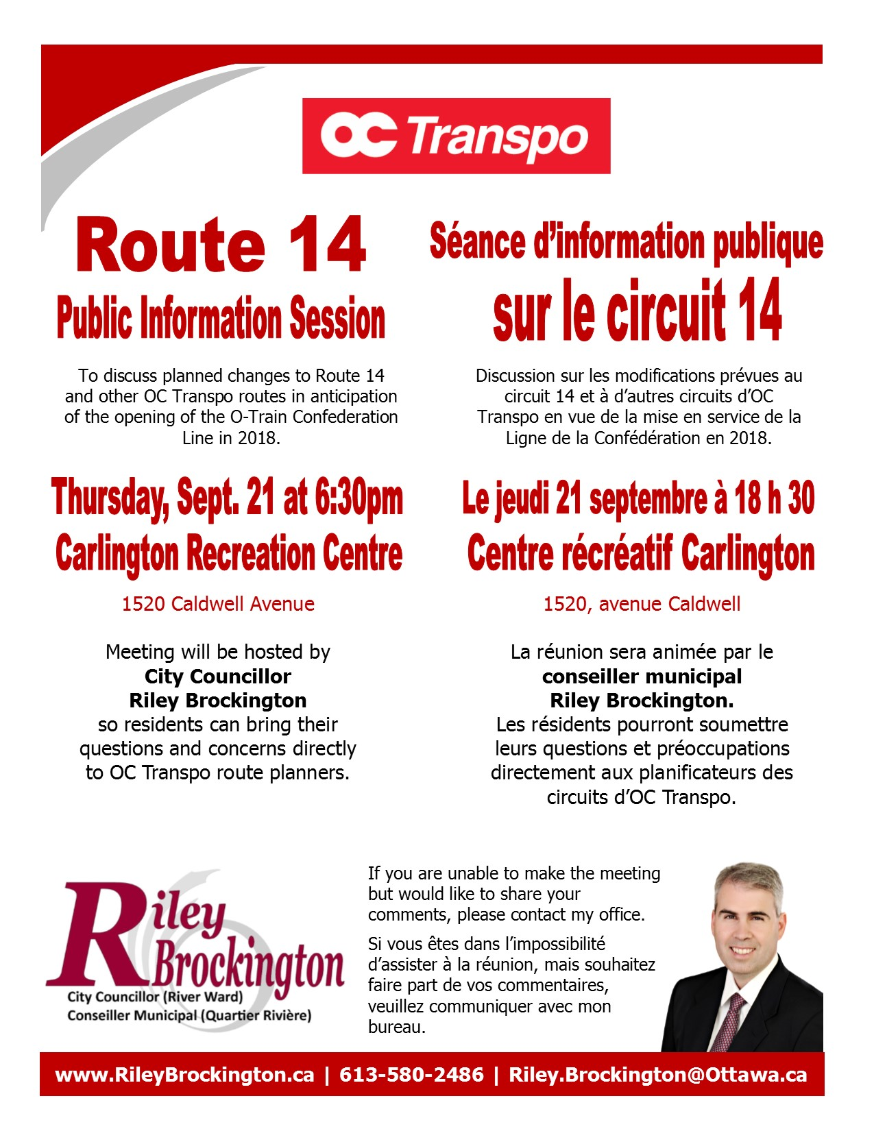 Route 14 meeting Sept 21 (BIL)