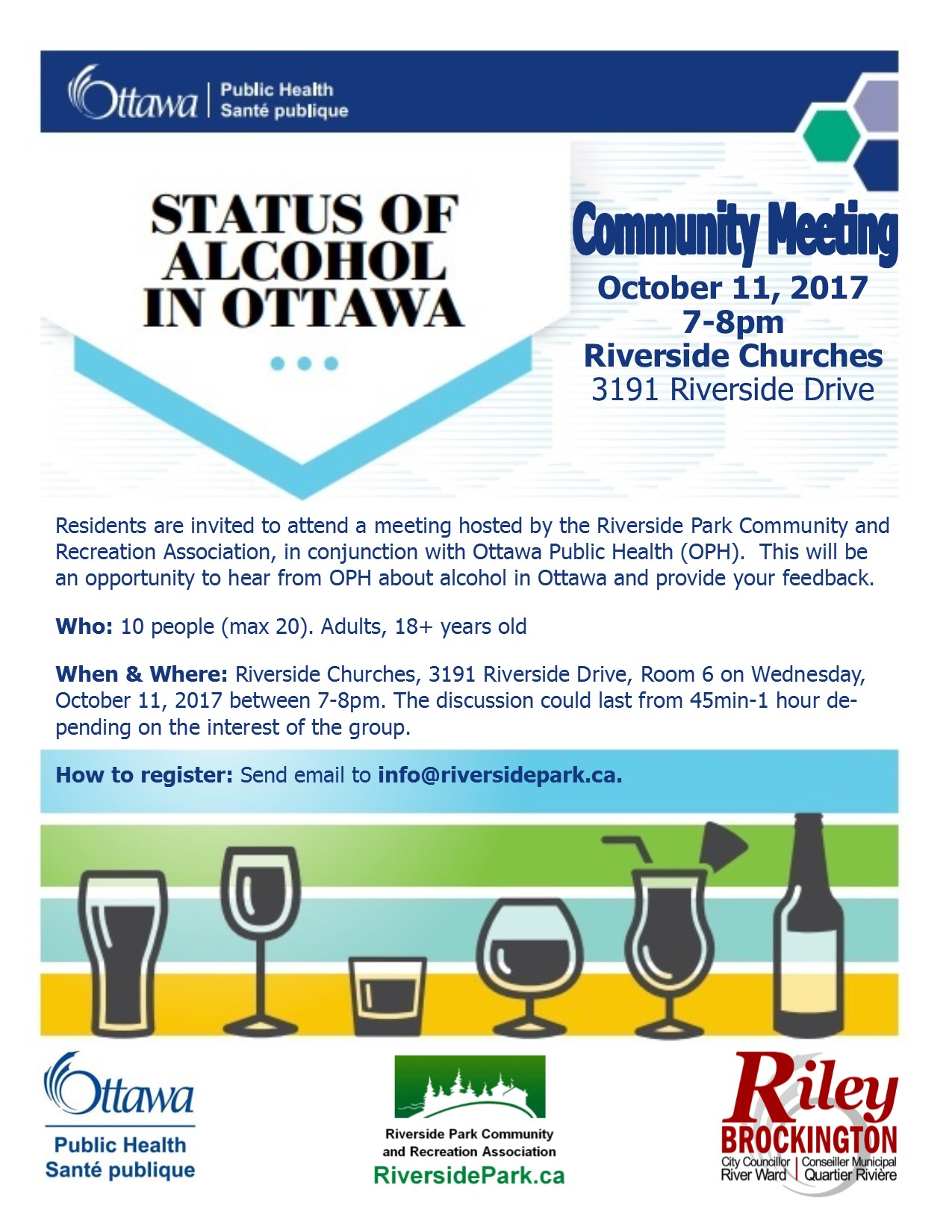 Status of Alcohol in Ottawa - RPCRA Meeting - Oct 11 2017